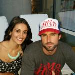 Friend & Brody Jenner at the W pool area