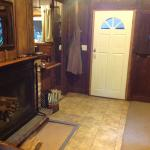 Cabin seven with fireplace