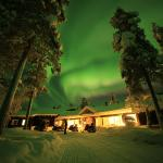 #Aurora Borealis at Muotka Wilderness Lodge