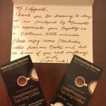Note from the manager! Being a Platinum Elite has it's privilegesprivilages