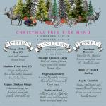 Christmas menu available all day
