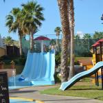 Kids slide and plyground