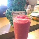 BlueBanana Smoothie. whole fruit smoothie