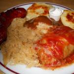 Polish Platter with Kielbasa