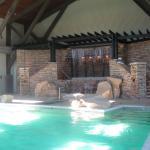 Indoor Pool/waterfall is beautiful