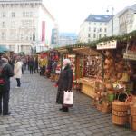 Enjoying one of the Christmas markets