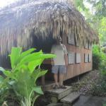 Our palapa hut
