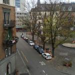 View from my room, very decent neighbourhood.