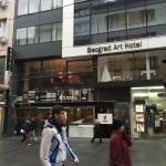 Foto de Belgrade Art Hotel