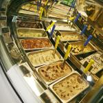 20 ever-changing gelato and sorbetto flavours!