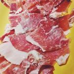 Iberico ham sliced to order