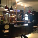 nice pub at lobby level