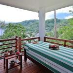 Villa Balcony with Outdoor Bed