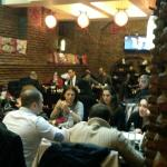 CROWDED DINING ROOM - QUITE THE NORM