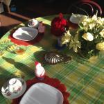 Завтрак в столовой
