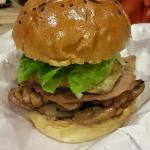 Yummy ... giant burger