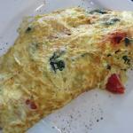 Three ingredient omelet