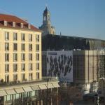 Blick vom Hotelzimmer Richtung Frauenkirche