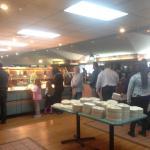 Lunch Buffet Crowd
