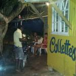 Best bar in Negril - coldest Red Stripe in Jamaica mon.   Real talk,  Collette has a beautiful s
