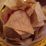 Warm chips for dipping!