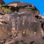 Little Petroglyph Canyon, China Lake Navy Base NAWS.