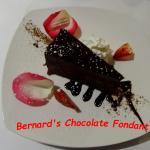 Bernard's Chocolate Fondant