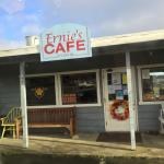Ernie's Cafe....with a view!