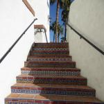 Lovely tile stairs