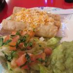 Chicken Flautas, Guacamole, Salad, Taqueria Baja, Capitola, CA