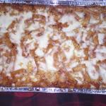 Large Baked Ziti - Catering Menu