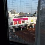 โรงแรมติดห้างอีออนและรถไฟ Higashi-Sapporo
