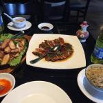 almorzando en Chifa Titi