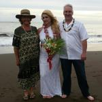 Sherry and Marc enjoyed their vow renewal December 18th. Rev. Christine Kube officiating.