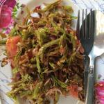 Tamarind leaf salad