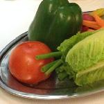 side salad, Lebanese style
