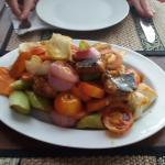 Vegetable chopsey