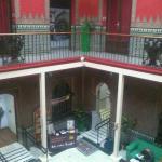 salón común, vista desde segundo piso