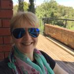 On the balcony of the Debritz Bistro