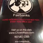 Fairbanks, Alaska - College Town Pizzeria