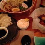 Soupe, poulet dumpling