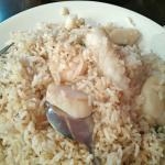 Tasteless seafood friend rice!!
