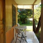 La terrasse privative avec hamac