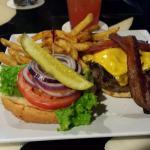 Burger essen im Yucatan