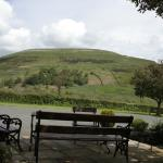 Seating with the view of Kisdon