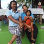 Massagedamen Ann, Mukta und ihre Mutter