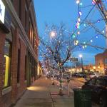 The Five Points Hood - beautiful holiday cheer!