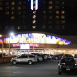 front of Seneca Casino