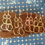 Shard earrings