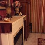 Ana's Room - fireplace